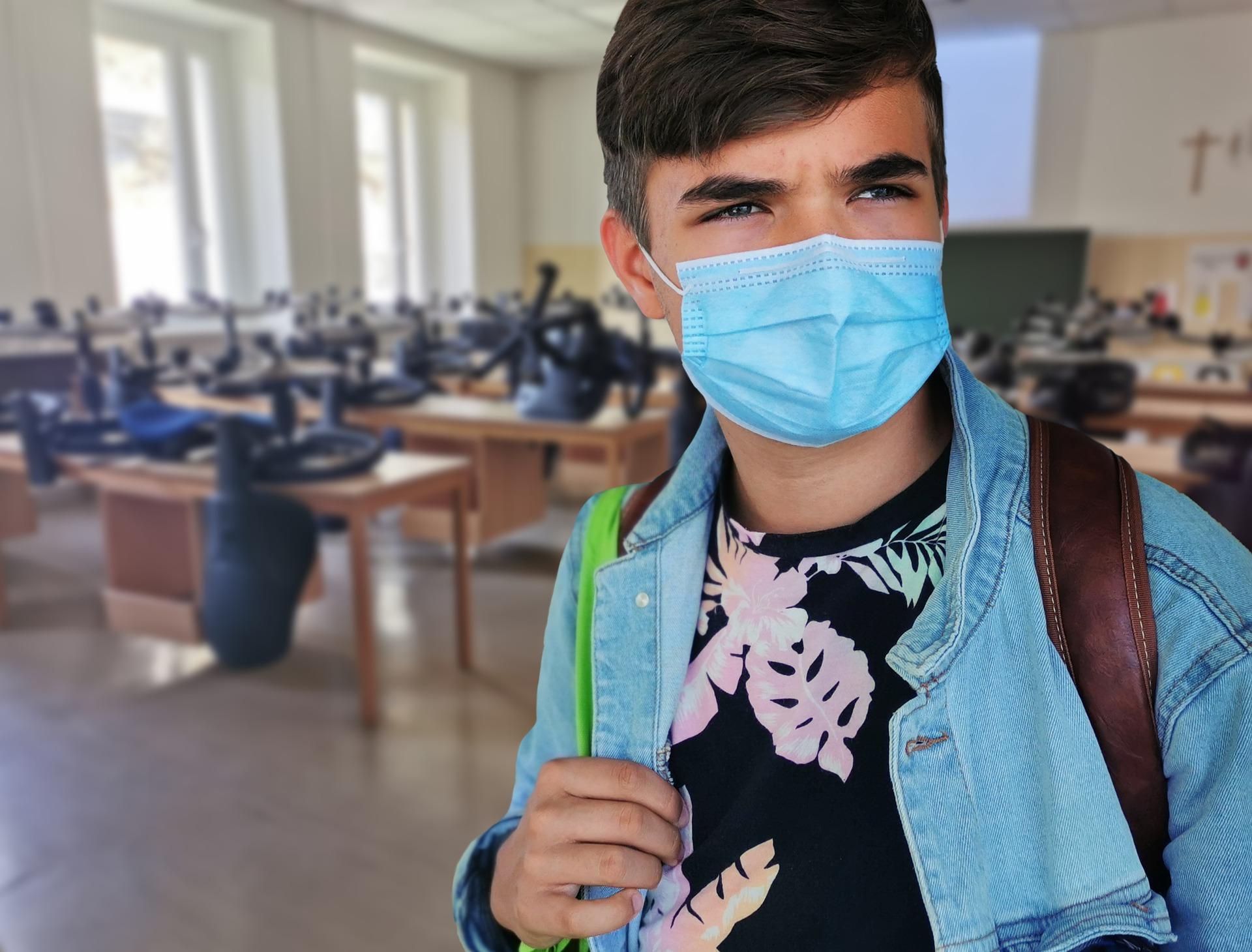 Es importante que niños y niñas sigan las normas de prevención sanitaria para que la vuelta al cole en pandemia sea segura.